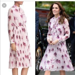No offers!! Kate Spade Encore rose silk dress sz 4